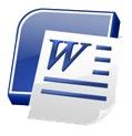 microsoft word icon image